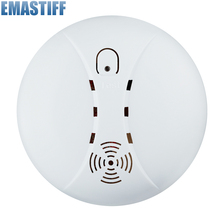 Free shipping!Wireless smoke detetor gsm alarm sensor for home Fire alarm system 433MHZ Free Shipping