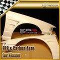 Стайлинга автомобилей Для Nissan Cefiro A31 DMax Стиль + 30 мм FRP Стекловолокна Переднее Крыло