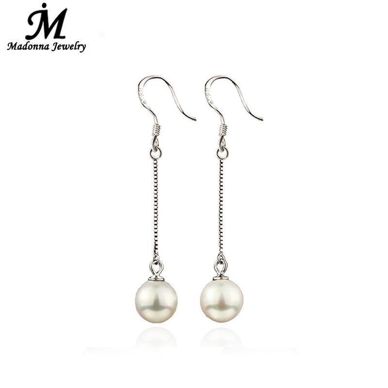 Boucles d'oreilles perles luxe