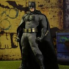 Mezco dawn of justice: batman um: 12 coletivo de alta qualidade bjd action figure brinquedos para meninos