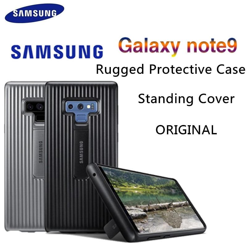 100% original Samsung Galaxy Note9 pie cubierta de protección robusta Kickstand caso EF-RN960 SM-N960 dura ultrafina de lujo