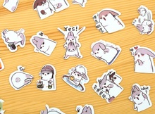 40 Piece Chubby rabbit series Sticker pack