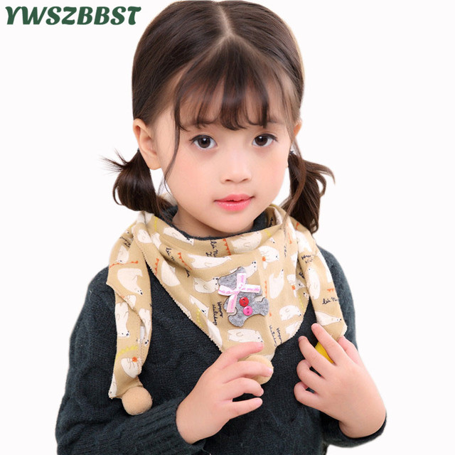 70f0becd3db Fashion cotton baby triangle scarf star bow print baby bibs baby girls boys  scarf autumn winter
