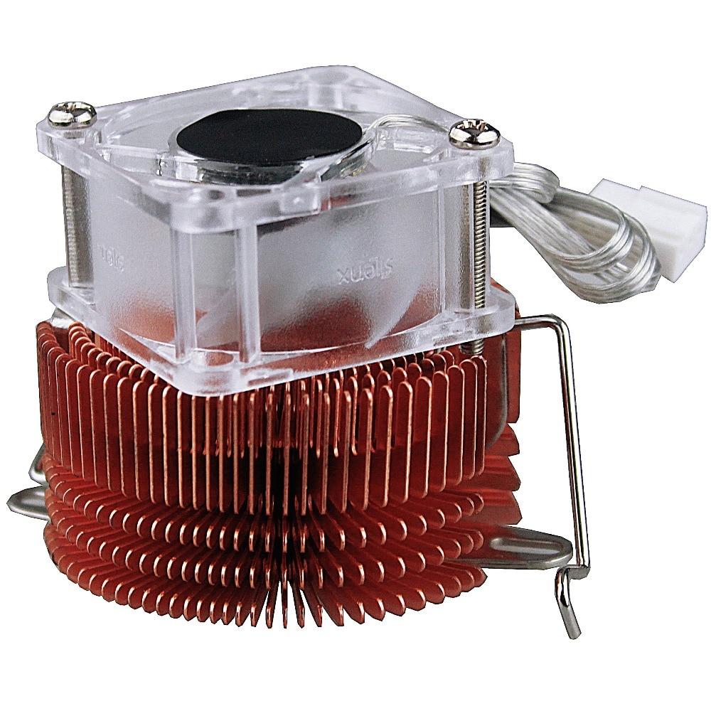 Copper Adjustable Heatsink Fin Cooler w//Fan For PC Northbridge Chipset Cooling