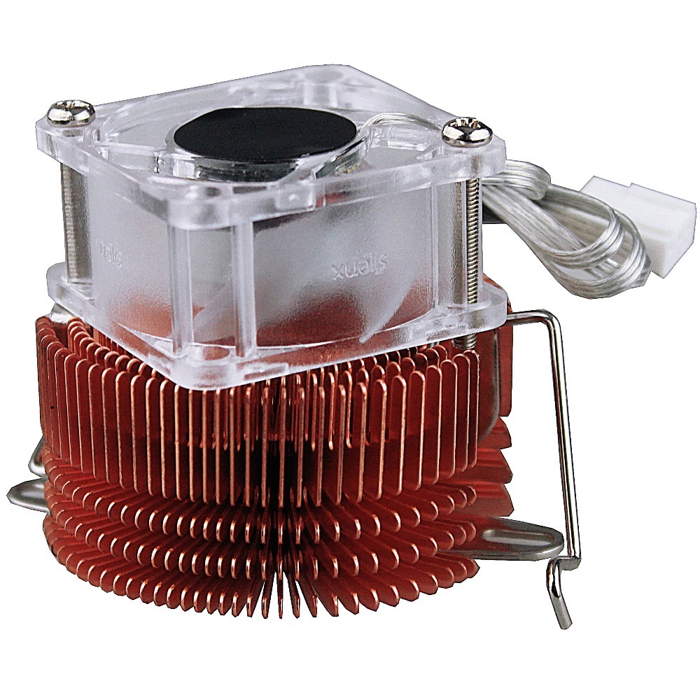 Northbridge Radiator Cooler Pure Copper North Bridge PC Chipset Heatsink Cooling Fan 4020 40mm(China)