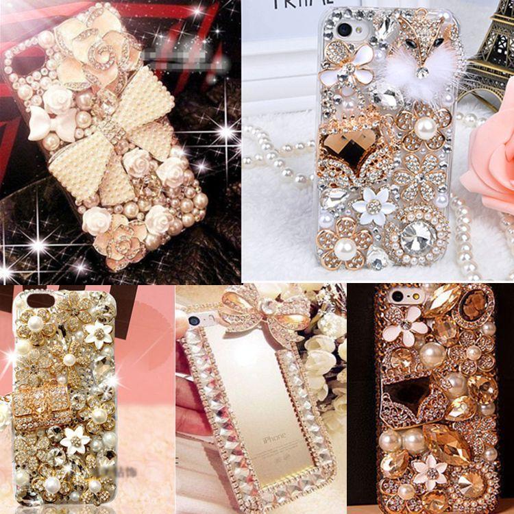 bilder für 3D Handmade Bling Jeweled Strass Diamant Kristall Gehäuse für Samsung galaxy S4/S5/S6/S6EDGE/S6EDGE Plus/S7/S7 Rand