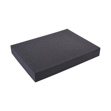 Soft pre-cut foam for tool box tool case and hand tool sets cheap NoEnName_Null Plastic black PNP cube foam 0 3kgs 10-100mm welcome for tool case