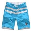Мужчины Пляжные Шорты Бренд Быстрое Высыхание Повседневная Большие Шорты Плюс Размер мужской Boardshort Бермуды Masculina ShortPants Мужчин # A15