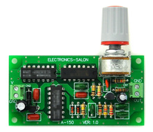 Electronics Salon módulo generador de ruido rosa, montado.