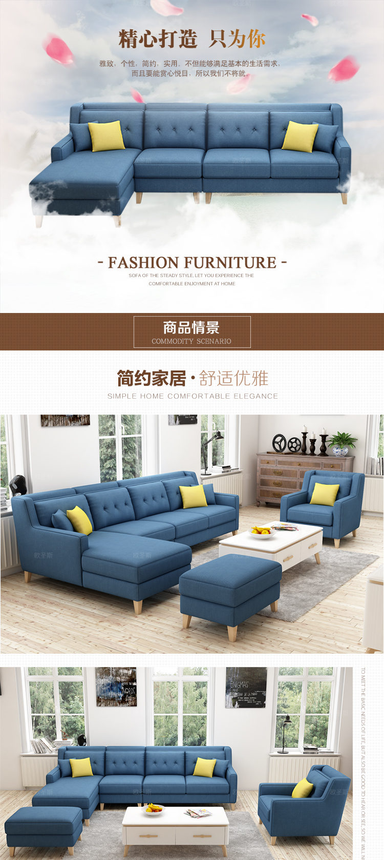List Of Living Room Furniture. New arrival American style simple latest design sectional l shaped corner living  room furniture fabric sofa set prices list F76F Online Shop