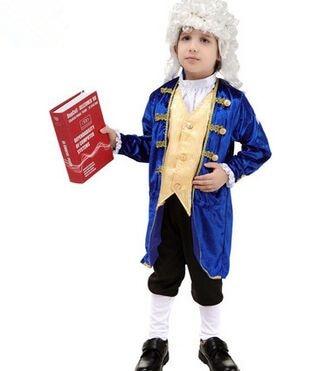 Azul real traje para niño príncipe azul trajes niño mascarada fiesta de disfraces  para los niños disfraces de halloween en Disfraces niños de La novedad y ... 5d0a412007a0