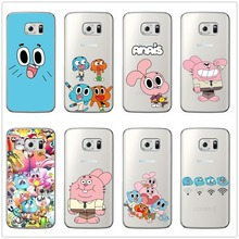 Anime TV The Amazing World of Gumball Phone Case soft Silicone Cover For Samsung Galaxy A6 A7 A8 2018 PLUS J6 J8 2018