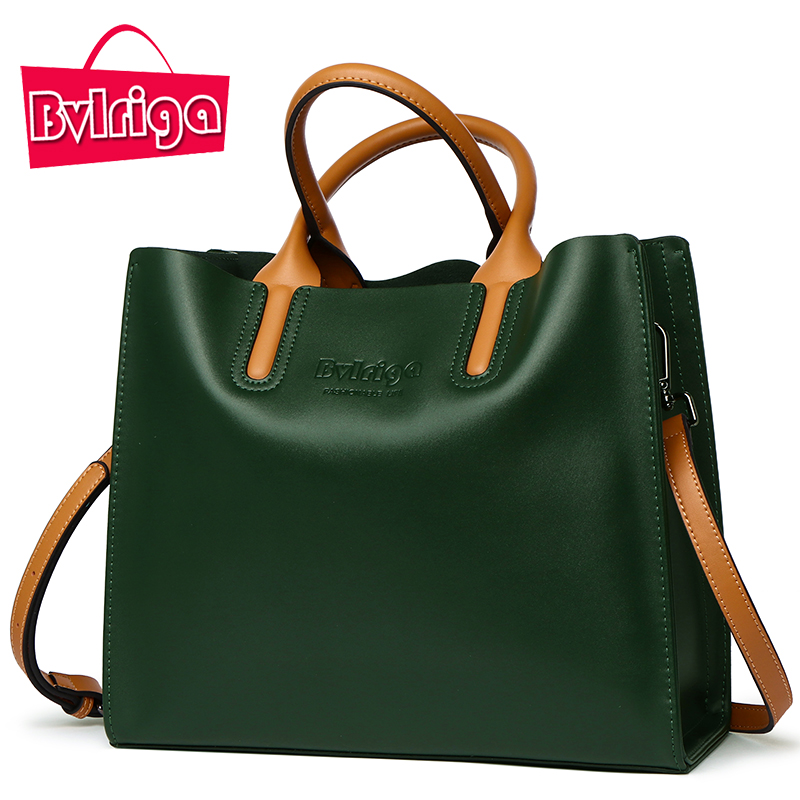 BVLRIGA Genuine leather bag famous brands women messenger bags women handbags designer high quality women bag shoulder bag tote designer handbags high quality female fashion genuine leather bags handbags women famous brands women handbag shoulder bag tote