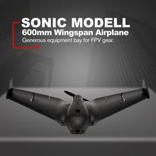 SONIC MODELL Mini AR Wing 600mm Wingspan EPP RC FPV Racing Drone Fixed Wing Airplane Plane UAV with High Speed PNP(China)