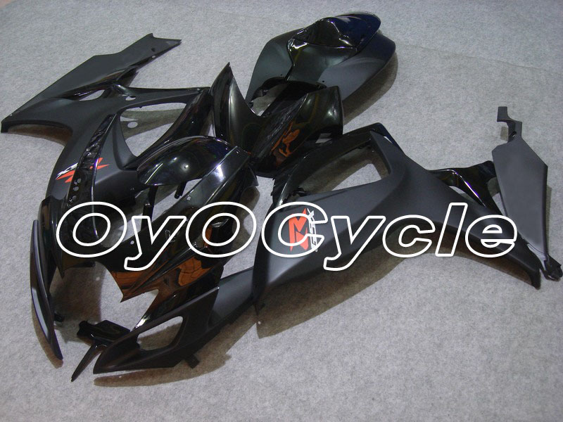 For 06-07 Suzuki GSXR600 GSXR750 K6 K7 GSXR 600 750 Injection Motorcycle ABS Fairing Bodywork Kit 2006 2007 BlackFor 06-07 Suzuki GSXR600 GSXR750 K6 K7 GSXR 600 750 Injection Motorcycle ABS Fairing Bodywork Kit 2006 2007 Black