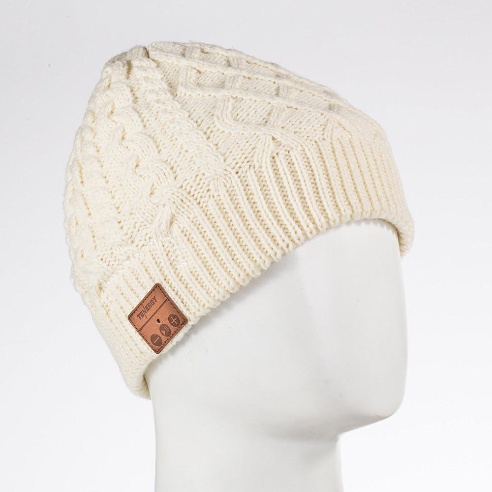 Bonnet tendance en laine torsadée