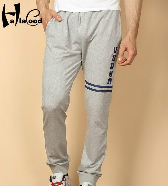 Marcas de Moda caliente 2017 Barato Nueva Calidad Párrafo Atractivo Del Otoño Del Resorte del Algodón de Los Hombres Más Grasa Pantalones Casuales Yardas Grandes pantalones