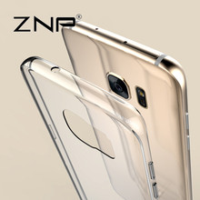 ZNP Transparent Case For Samsung Galaxy S7 Ultra Thin Clear Soft TPU Silicone Cover Cases For Galaxy S7 edge Case Coque Fundas