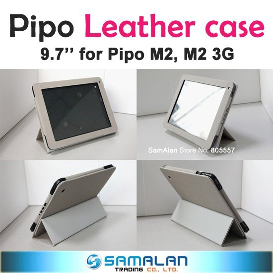 Leather Case for Pipo M2, M2 3G HK Post Free Shipping