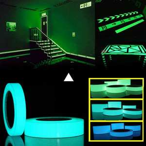 Luminous-Tape Exit Sign Walls Glow-In-Dark-Sticker Stage Safety Home-Decoration Night-Vision