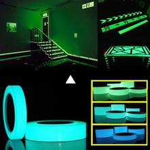 10M*10mm Luminous Tape Self-adhesive Glow In Dark Sticker For Exit Sign Walls Safety Stage Night Vision Home Decoration Tape(China)