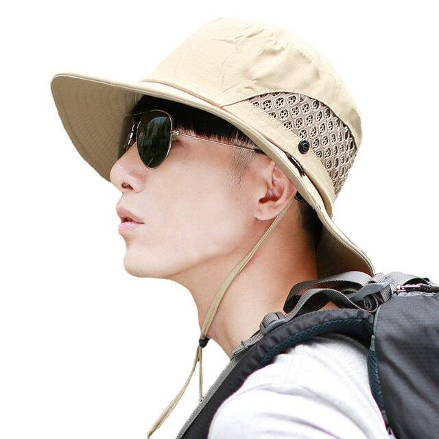 5fa79dac99a95 Gorra de pescador tipo cubo panam para hombre gorra de malla para hombre  gorra de cuerpo