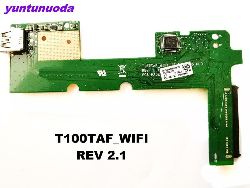Original for ASUS laptop T100TAF HDD BOARD T100TAF_WIFI REV