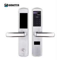 304 Stainless Steel Over Grade C Lockcore Fingerprint Lock Password Locks Intelligent Card Locked Keys 5 in 1 Anti theft Locker