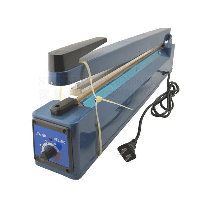 Impulse Sealer Psf400 Hand Sealing Machine Manual Of Plastic Bag 110v