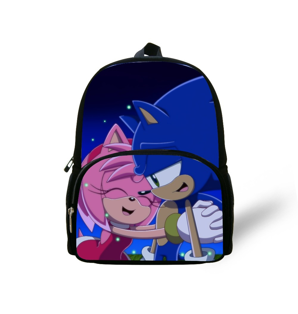 School bag new design - Aliexpress Com Buy Forudesigns New Design Student School Bags 12 Inch Children Cartoon Book Bags Boys Sonic The Hedgehog Printing School Bag From Reliable
