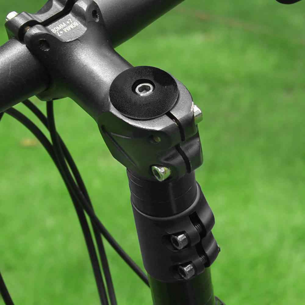 Road Bicycle Extension Rod Adapter Bike Fork Stem Extender Metal Accessory Tools