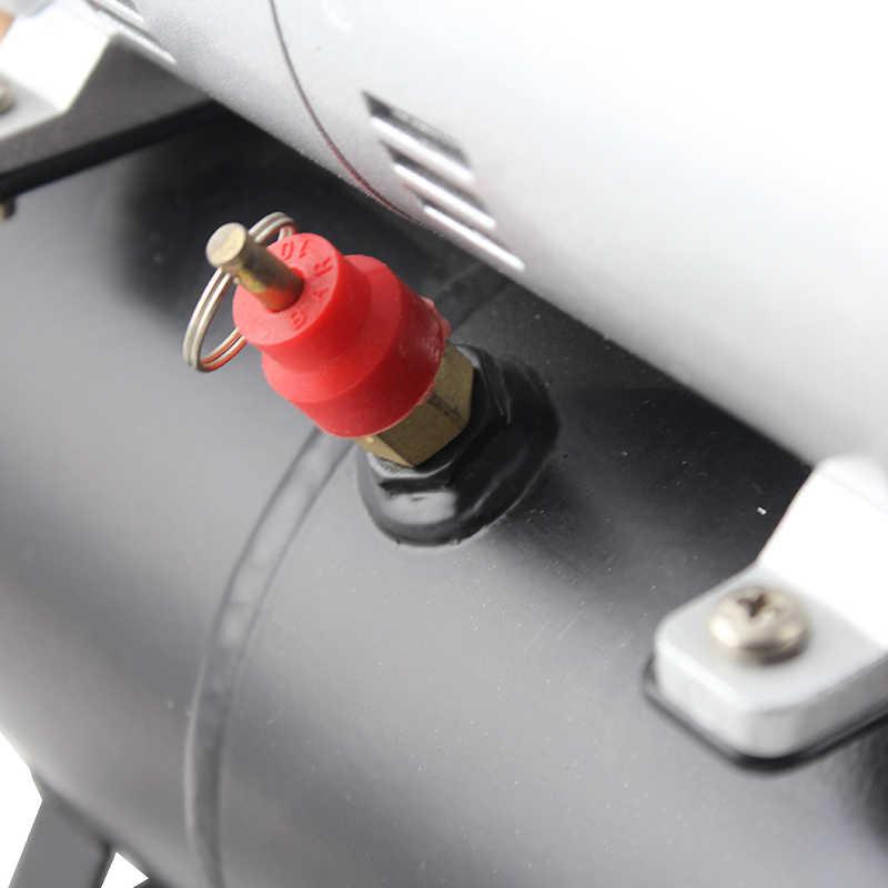 Compressor de ar provisório da tatuagem para o passatempo 110 v/220 v ac090 compressor de ar com tanque de ar de ophir para o passatempo modelo