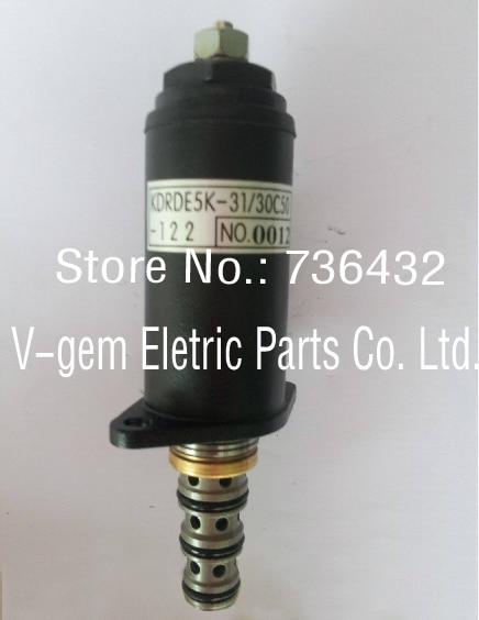 Free shipping! Excavator solenoid valve YN35V00048F1 DRDE5K-31/30C50-122 for Kobelco SK200-8/ SK250-8/ SK260-8/ SK330-8/ SK350-8 pc400 5 pc400lc 5 pc300lc 5 pc300 5 excavator hydraulic pump solenoid valve 708 23 18272 for komatsu