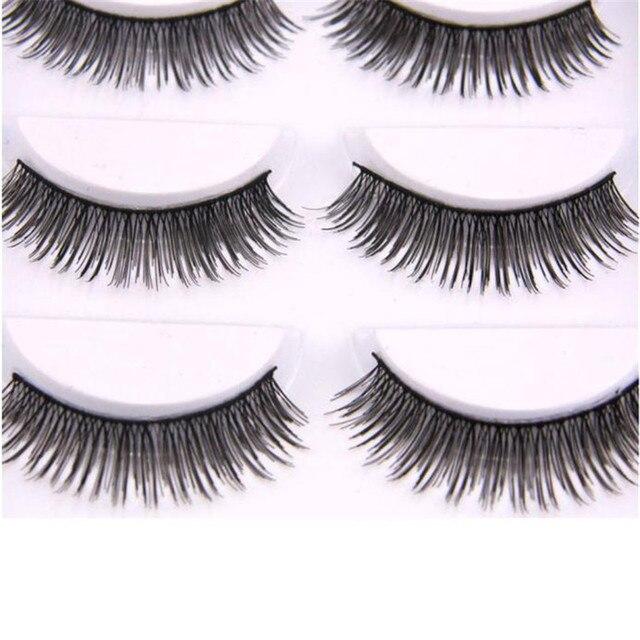 Hot Sale 5 Pair False Eyelashes Natural Look Fake Lashes Voluminous