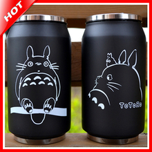 Totoro Flasche Edelstahl Totoro Thermobecher Thermobecher Termo Cup Kaffee Kinder Thermosflasche Garrafa Termica Inox Thermocup