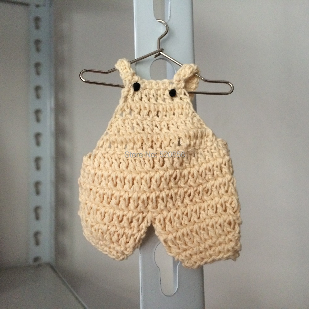 Baby Shower Favor Cream Suspender Mini Knitted Crochet Girl Boy Baby Shower  Gift Party Decorations  In Party Favors From Home U0026 Garden On  Aliexpress.com ...