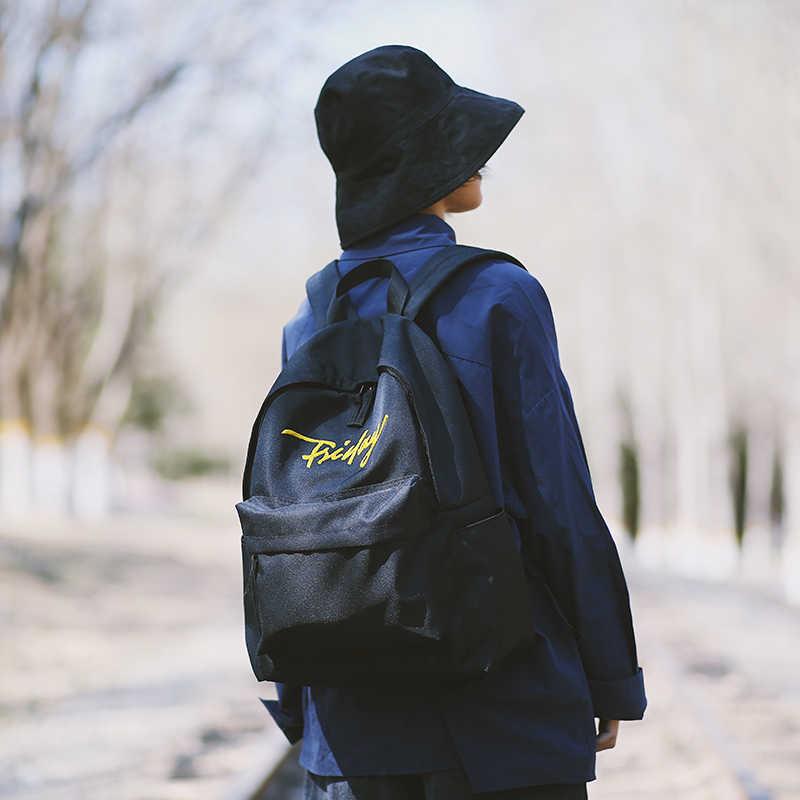 Качественные рюкзаки для женщин, новинка 2019, высокая емкость, школьная сумка для девочек, женская сумка для путешествий, сумка на плечо с надписью «Friday»