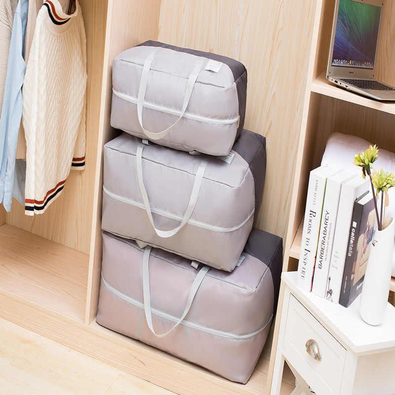 LDAJMW impermeable Oxford edredón bolsa de almacenamiento hogar organizador ropa de cama manta bolsas de almacenamiento