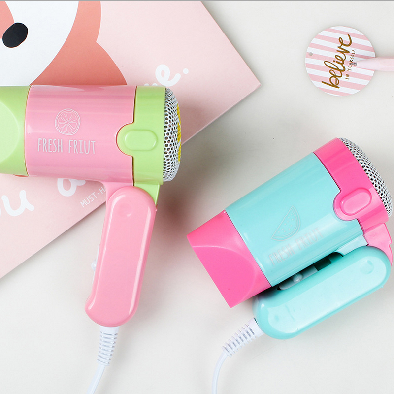 At Fashion 220V Mini Hair Dryer Electric hair Styling Tools Salon Hair Dryer Professional Small Travel Hair dryer 450W