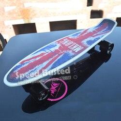 2019 barato peny placas para venda completa skate 22 griptape retro mini skate longo placa cruiser longboard rodas led luzes
