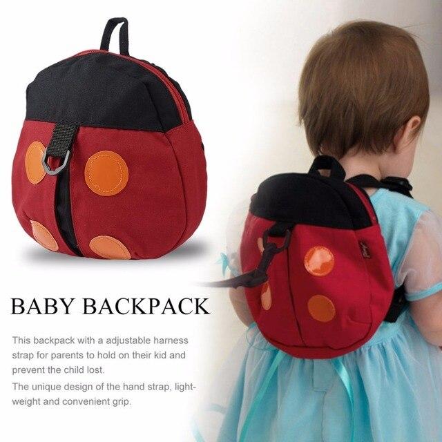 6c24fd5b46 Baby Walker Cute Baby Kids Cartoon Adjustable Backpack Anti-lost Toddler  Walking Safety Harness Strap