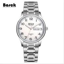 2017 Novos Relógios Homens Marca De Luxo Cronógrafo Homens Esportes Relógios À Prova D' Água Relógio Dos Homens de Aço Completo relógio de Quartzo Relogio masculino
