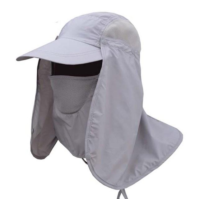 8fa16f665 Summer Protective Chapeu Feminino Neck Cover Ear Flap UV Protection Men  Women Sun Hats