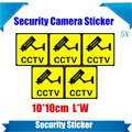 5 Pieces Waterproof Security Camera Sticker Warning Decal Signs For CCTV Surveillance,Fake Camera And Dummy Camera