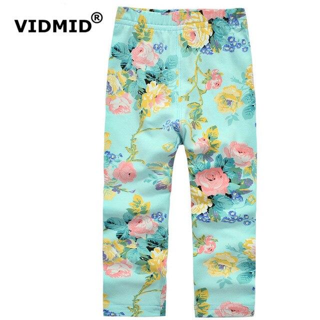 Vidmid/Обувь для девочек леггинсы штаны для маленьких девочек; детские штаны детские узкие брюки хлопок весна-осень девятый Штаны 1014 10