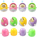 New1pcs Clockwork toys cute Russian doll on the chain nodding smiley small toys  Russian toy