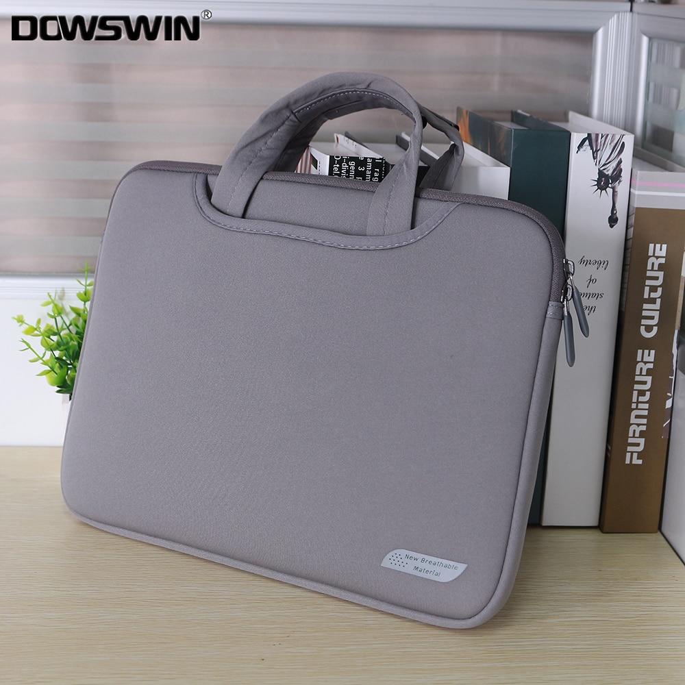 DOWSWIN Laptop Bag 13 15 Inch Notebook Sleeve Bag Business Handbag For Macbook Air 13 Case Bag For HP Lenovo Dell Xiaomi 15.6