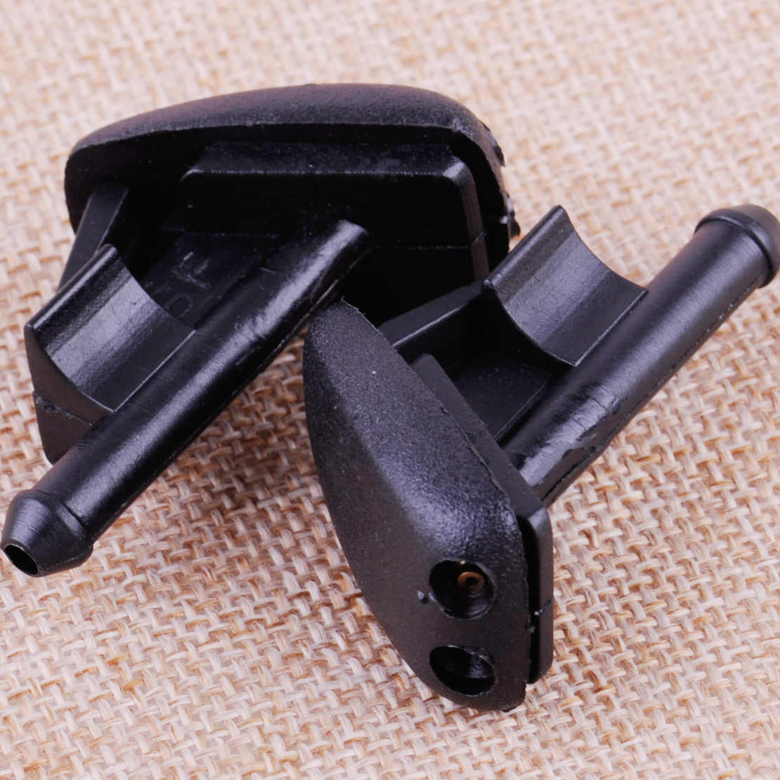 Wipers 2Pcs Car Left Windshield Washer Spray Nozzle 61601384859 Fit for BMW E36 Z3 318I 318Is 325I 325Is 328I M3 Non-Heated
