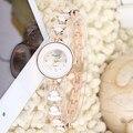 2016 New Arrival Chapéu Acessórios de Relógio Pulseira de Banda Relógio de Pulso de Moda das Mulheres Com Strass Relógios de Quartzo Das Mulheres