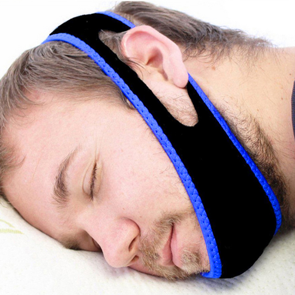 Snore Belt Stop Snoring Sleep Apnea Chin Jaw Support Strap for Woman Man Care Sleeping Tools Health Professional